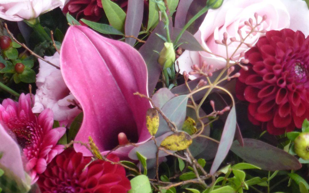 Skicka blommor på Alla hjärtans dag